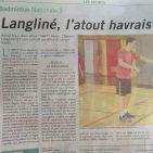 Clément Langliné à l'honneur